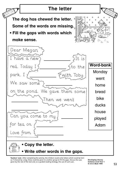 eyfs ks simple sentences teachit primary
