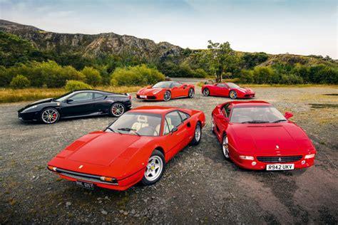 Top 5 Greatest Ever V8 Ferraris Revealed By Enzo Magazine