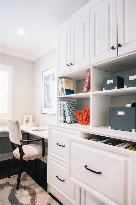 For Home by Best Custom Home Office Designers Built In Storage