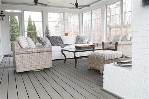 tranquil screened porch living  springfield golf club fine