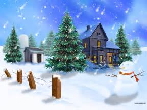 christmas scene christmas wallpaper 2892970 fanpop