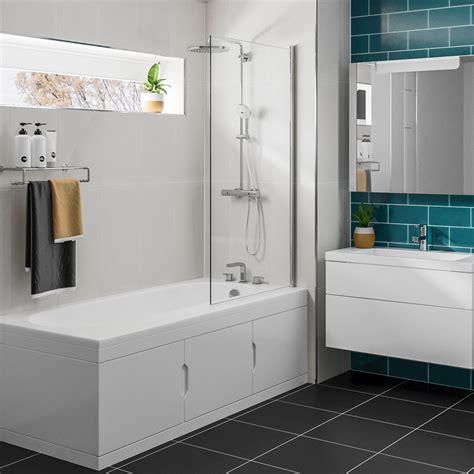 badewanne mit duschkabine rechteck badewanne 167 5x76 5cm mit einbauschrank und
