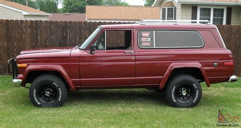 1979 jeep cherokee chief 1979 amc fsj jeep cherokee chief golden eagle wide track