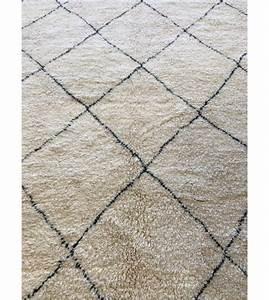 tapis berberes beni ouarain milkybunnies With tapis berbere blanc