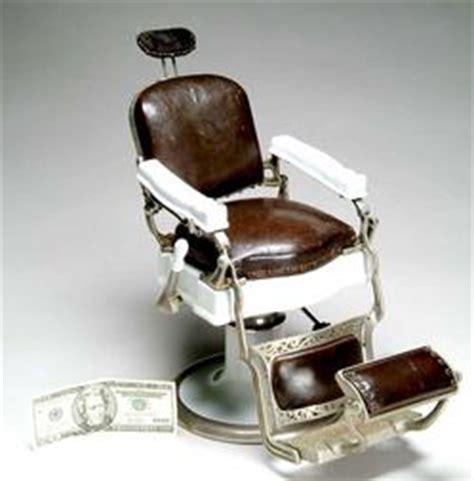 barber chair koken salesman sle porcelain nickel 14 inch