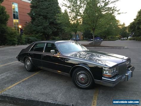 Cadillac Car For Sale by 1984 Cadillac Seville For Sale In The United States