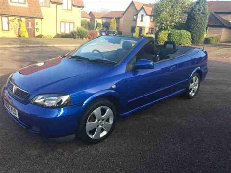 vauxhall convertible 2005 vauxhall astra coupe convertible blue 1 6 16v with 13
