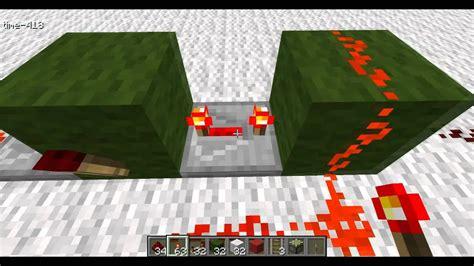 Minecraft Tutorial Redstone Monostable Circuit Youtube