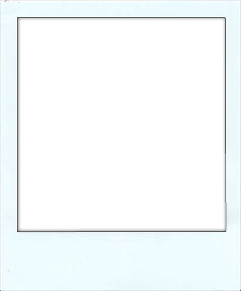 transparent template polaroid frame template by axel230 on deviantart
