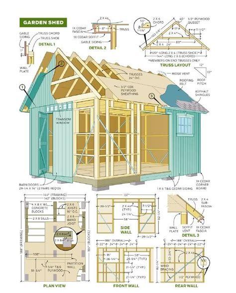 shed plans  ideas  pinterest