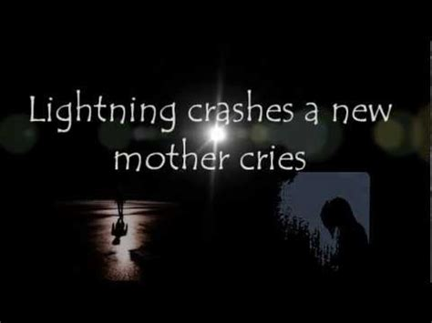 crashes lyrics jo cel the mellow rock lightning crashes live Lighting