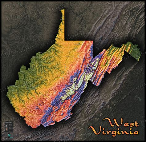 west virginia elevation map fysiotherapieamstelstreek
