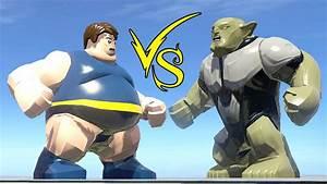 Blob Vs Green (Goblin Ultimate) - LEGO Marvel Super Heroes ...
