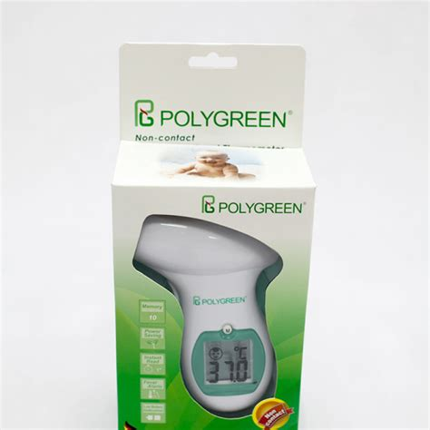 POLYGREEN NON-CONTACT INFRARED FOREHEAD KI-8280 – Comfort
