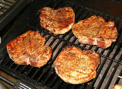 pork chop grill time grilled pork chops recipe file cooking for engineers