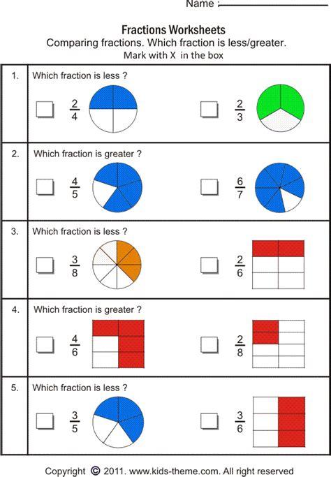 fraction worksheets grade 2 worksheets for all