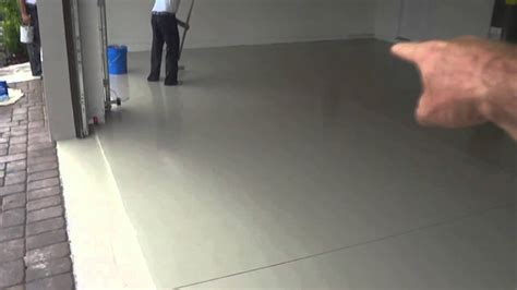 Dr. Phillips Garage Floor Epoxy   YouTube