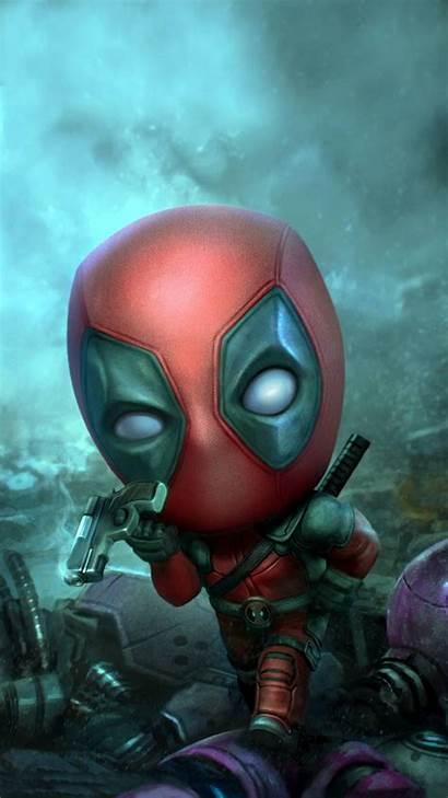 Deadpool Mini Rwby Zedge Male Reader Remnant