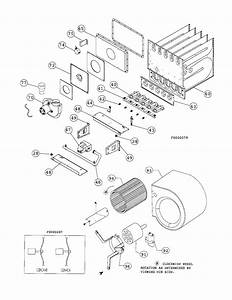 Blower Housing  Heat Exchanger Diagram  U0026 Parts List For