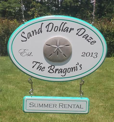 vrbo beach house  property signs coastal rental signs