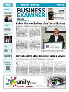 Business Examiner Victoria - February 2016 by Business