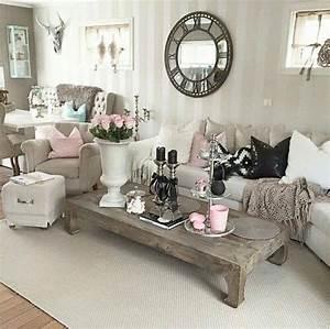 Deco Anglaise Romantique Top Affordable Ide Dco Salon De
