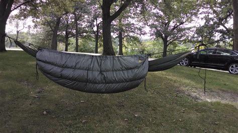 bwca insulating  hennessy hammock boundary waters gear forum
