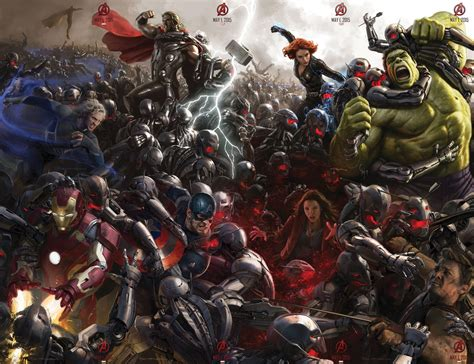 Complete Avengers: Age Of Ultron Comic Con Poster Is Your New Wallpaper