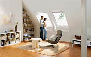 Wohnzimmer Mit Schräge : einrichtungsideen dachschr ge ~ Lizthompson.info Haus und Dekorationen