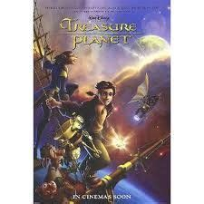 Emma thompson, roscoe lee browne, corey burton, dane a. Treasure Planet (2002) | Treasure planet, Animated movie posters, Disney movie posters