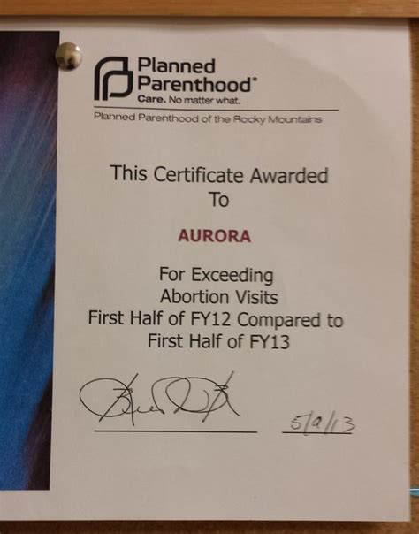 planned parenthood  clinic award  killing