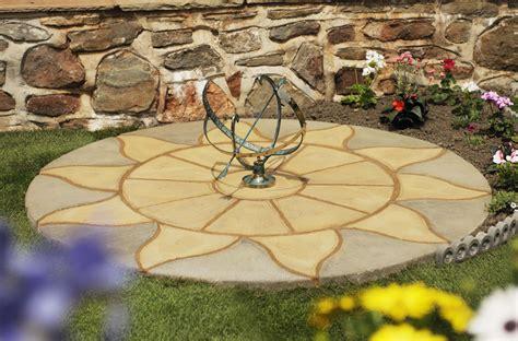decorative patio packs circles davies diy builders