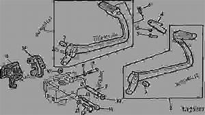 Brake Pedal  35  - Tractor John Deere 2355