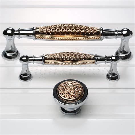 high quality european rose gold chrome cabinet handle