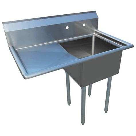 one compartment stainless steel sink sauber 1 compartment stainless steel sink with 18