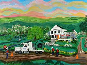 Artist feels spirit of Grandma Moses when painting | The ...