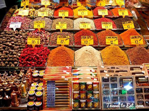 bazar cuisine spice bazaar istanbul turkey travel to eat