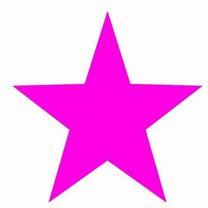 Star Pink Clipart Neon Border Gay Emoji
