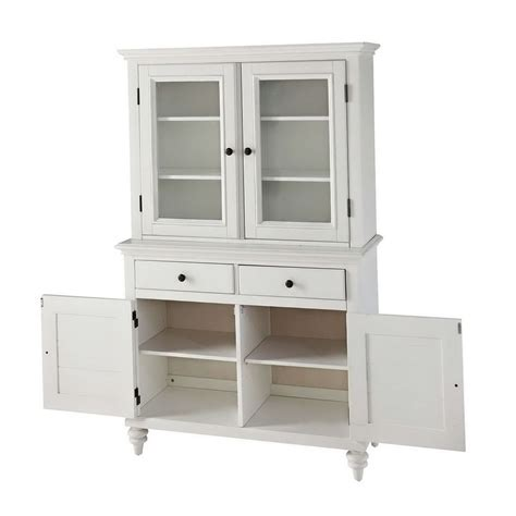 White Kitchen Hutch Cabinet Home Design Ideas