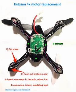 How To Replace Hubsan 4x Motors