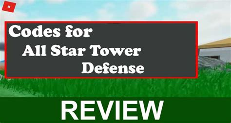 Only if the code is valid at the moment. Codes for All-Star Tower Defense (Oct 2020) Earn Free Rewards!