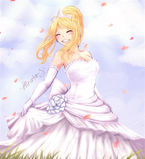 Lucy  Wedding Dress By Hirata105 On Deviantart