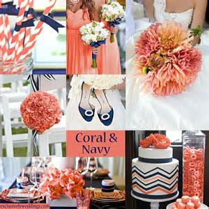 navy and coral wedding invitations coral and navy wedding colors wedding colors