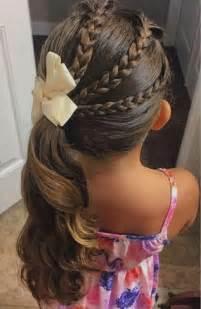 coupe de cheveux fillette coiffure fille 90 idées pour votre princesse