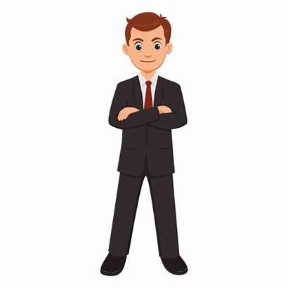 Cartoon Businessman Profession Transparent Vector Vexels