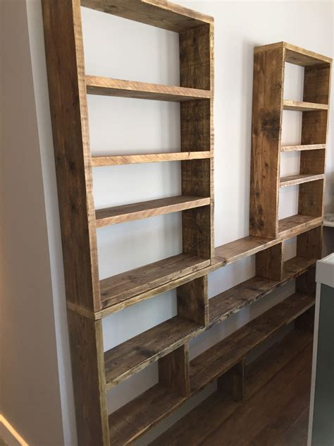 Huge Reclaimed Scaffold Board Shelving Unit For The Paddle
