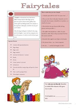 44 Free Esl Fairy Tales Worksheets