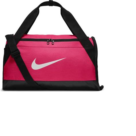 nike brasilia s fitness bag pink decathlon