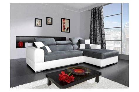 canape blanc et gris photos canapé d 39 angle gris et blanc