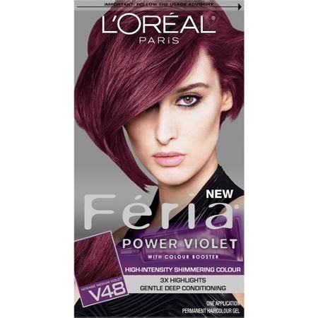 beauty dyed hair purple hair color purple violet hair